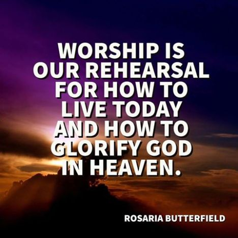 Worship is