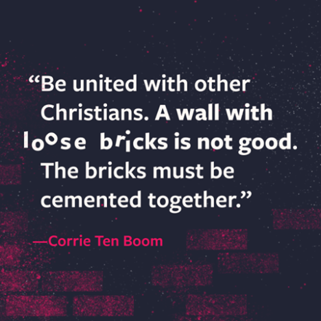 A wall with loose bricks
