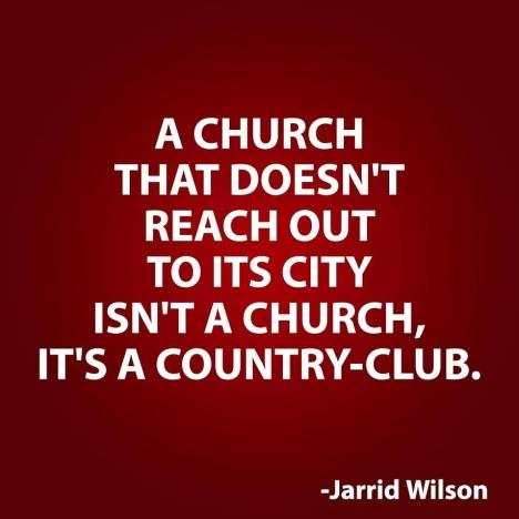 A church that doesn't