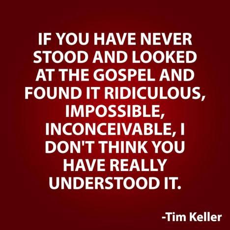 Ridiculous gospel