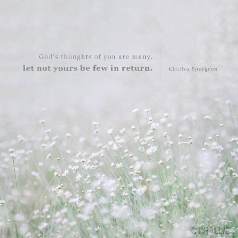 God's thoughts of you