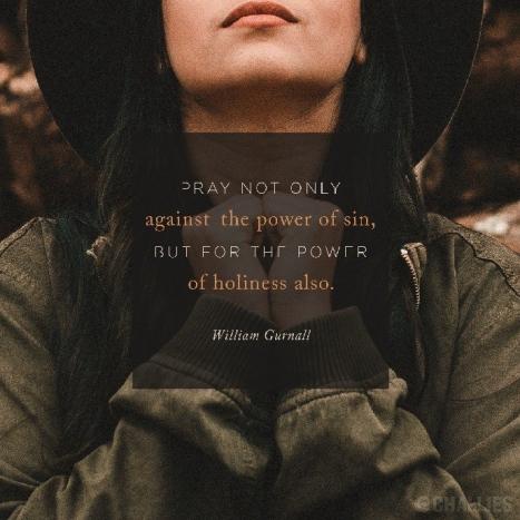 Pray-holiness