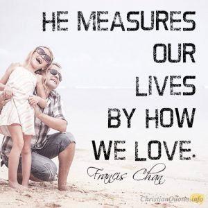 He measurers
